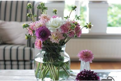 What can I do to prolong the joy of flowers in my house?