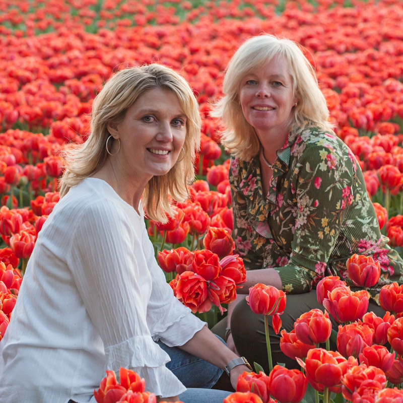 FAM Flower Farm Marlies en Linda
