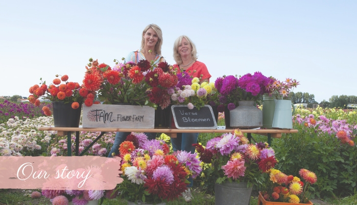 Our Story - Marlies & Linda - FAM Flower Farm